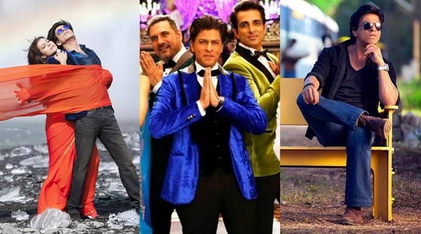 Dilwale Happy New Year Chennai Express Shah Rukh Khan S Last Ten
