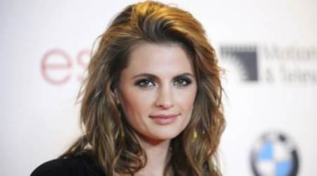 Stana Katic leaving 'Castle'