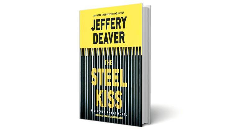 book, book review, the steel kiss, jeffery Deaver, Lincoln Rhyme , crime, thriller, thriller novel, book