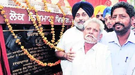 Sukhbir Singh Badal, Punjab, Punjab Deputy Chief minister, Punjab deputy CM Sukhbir Singh Badal, AAP, Aam Aadmi Party, Jalalabad Sangat Darshan, Sukhbir visits punjab villages, punjab news