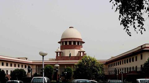 Supreme Court of India. New Delhi . Express Photo By Amit Mehra  19-04-2010