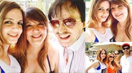 Sussanne Khan, sister Farah, brother Zayed celebrate their mom, dad's golden anniversary in Bodrum