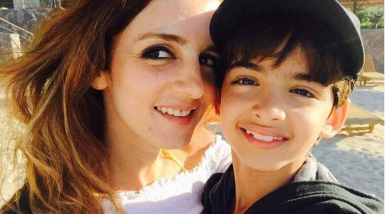 sussanne khan, sussanne khan kids, sussanne khan sons, hrithik roshan, sussanne khan hrithik roshan, sussanne hrithik, sussanne khan news, hrehaan, hridhaan, sussanne khan latest news, sussanne khan instagram, entertainment news