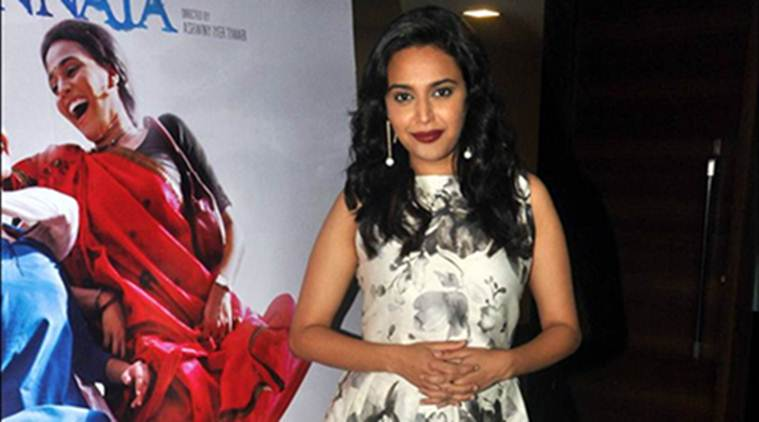 Swara Bhaskar, Swara Bhaskar film, Swara Bhaskar news, Nil Battey Sannata, Nil Battey Sannata cast, Swara Bhaskar upcoming film, entertainment news