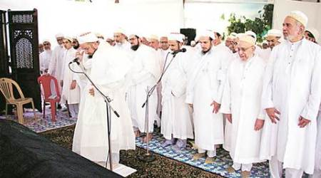 Khuzaima Qutbuddin laid to rest, body flown over Raudat Tahera