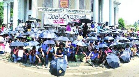 Venkatappa Art Gallery, vag bengaluru, Venkatappa Art Gallery privatisation, bengaluru vag protest, vag vitm privatisation, bengaluru news, bangalore news, india news, latest news