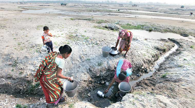 For the 4,000-odd residents of Tarabari village, nearly 12 km from Siliguri, Balason river is the only source of water. Partha Paul