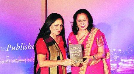 delhi book launch, taveleen singh, columnist tavleen singh, PM modi, modi politics, India Habitat Centre, indian express talk, indian express