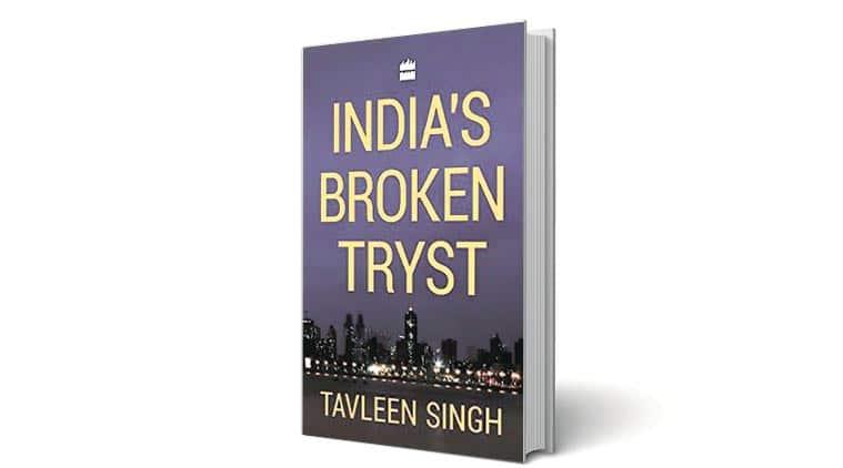 delhi book launch, taveleen singh, columnist tavleen singh, PM modi, modi politics, India Habitat Centre, indian express book review, book review, indian express
