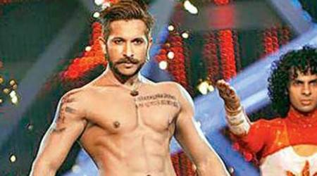 Terence Lewis steps in front of camera