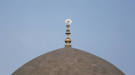 Gold finial at Humayun's Tomb unveiled