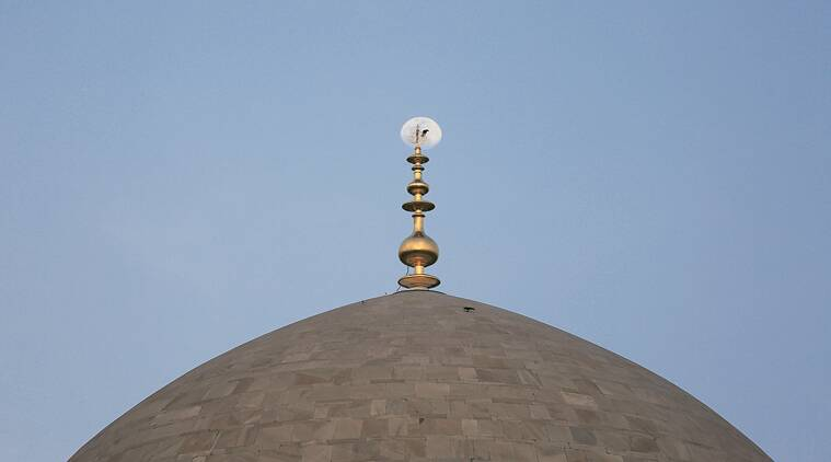 humayun tomb, gold finial, humayun tomb finial, gold finial tomb, delhi news