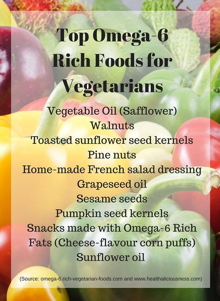Top Omega-6 Rich Foods for Vegetarians