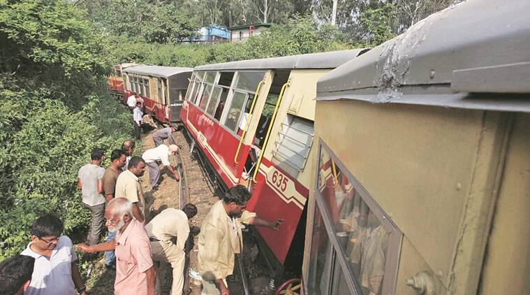 toy train accident, chandigarh, chandigargh toy train accident, northern railway, chandigarh newsline, indian express chandigarh