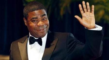 Tracy Morgan performs for medical staff