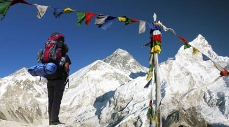 Despite odds, trekkers are climbing Mt Everest again