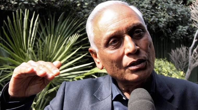 New Delhi: File Photo- Former Air Chief Marshal S. P. Tyagi. Enforcement directorate (ED) summoned Tyagi on Friday for questioning in a controversial helicopter scam. PTI Photo (PTI4_29_2016_000294B)