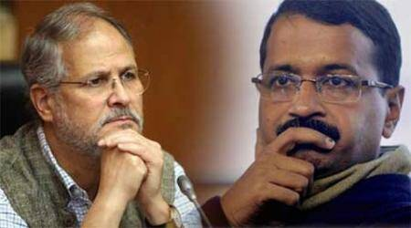 Arvind Kejriwal, Najeeb Jung, JK Sharma, Tihar DG, Tihar Director General, Lt Governor Najeeb, AAP government, India news