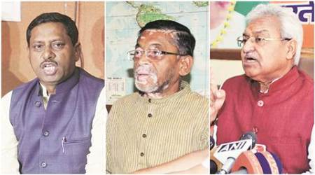uttar pradesh, bharatiya janata party, up bjp, up bjp chief, UP BJP state chief UP assembly elections, Santosh Gangwar, Laxmikant Bajpai, Ram Shanker Katheria,, uttar pradesh news, up news, india news, latest news