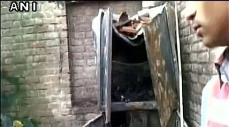 Six children of a family die in house fire caused by toppling of candle in UP