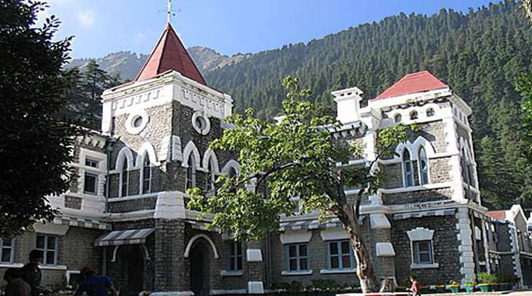 Uttarakhand High Court, Uttarakhand judges suspended, Uttarakhand High Court suspends 3 judges,Registrar General of the High Court Narendra Dutt, Uttarakhand High Court Chief Justice KM Joseph, indian express news