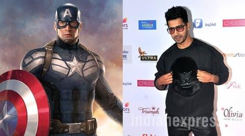 Varun Dhawan turns superhero, to dub for  Hindi version of Captain America: Civil War