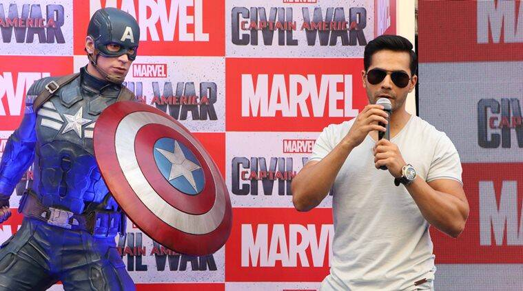Varun Dhawan, Varun Dhawan movie, captain america, Varun Dhawan captain america, Varun Dhawan news, Varun Dhawan latest news, entertainment news