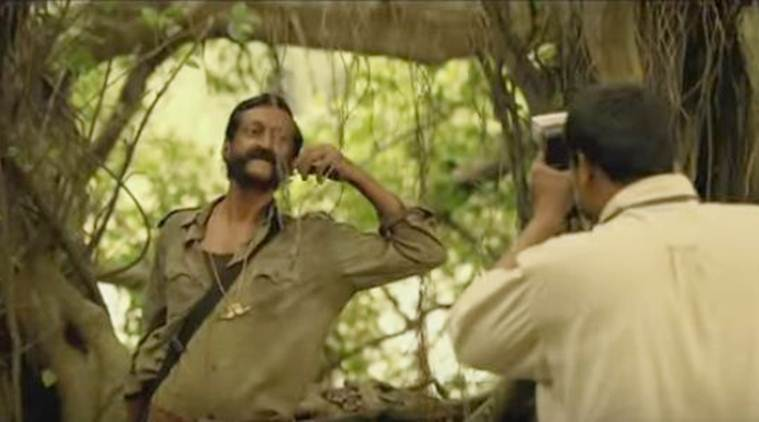 veerappan, veerappan trailer, veerappan first trailer, veerappan movie, veerappan cast, veerappan trailer release, watch veerappan trailer, ram gopal varma, Sandeep Bhardwaj, Sachiin J Joshi, Usha Jadhav, Lisa Ray, entertainment news
