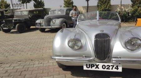 Classic cars roll out on Pune roads