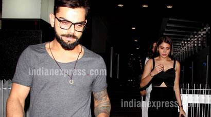 Kohli and Anushka's late night date