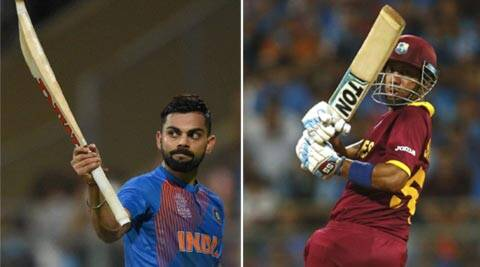 Virat Kohli and Lendl Simmons 82 in 51b: Exact but inexact
