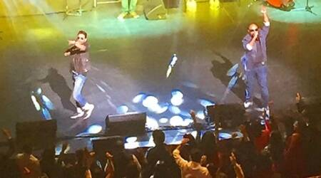 Vishal-Shekhar perform in Hosuton