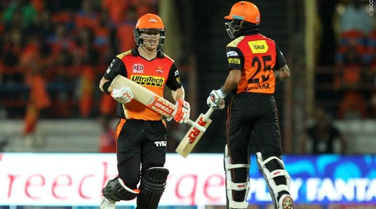Sunrisers Hyderabad in top form. Image Courtesy: Indian Express