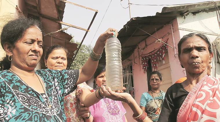 All the water that comes to Vitthalwadi is absolutely filthy, say residents of Sai Baba chawl.