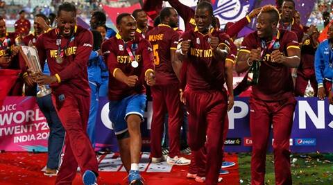 West Indies vs England: How West Indies celebrated their World T20 win