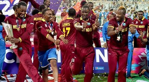 West Indies vs England: Usain Bolt celebrates West Indies victory with 'Champion' dance
