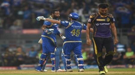 IPL 2016, MI v KKR: Kieron Pollard destructs KKR bowling, MI gun down yet another target
