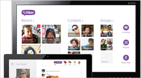Viber gets end-to-end encryption, hidden messages and more