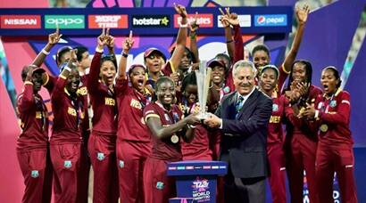 WI women create history with maiden title
