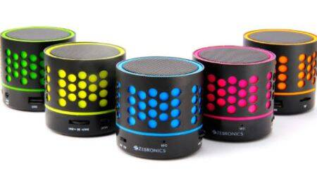 Zebronics DOT speaker launched in five neon colour variants at Rs777