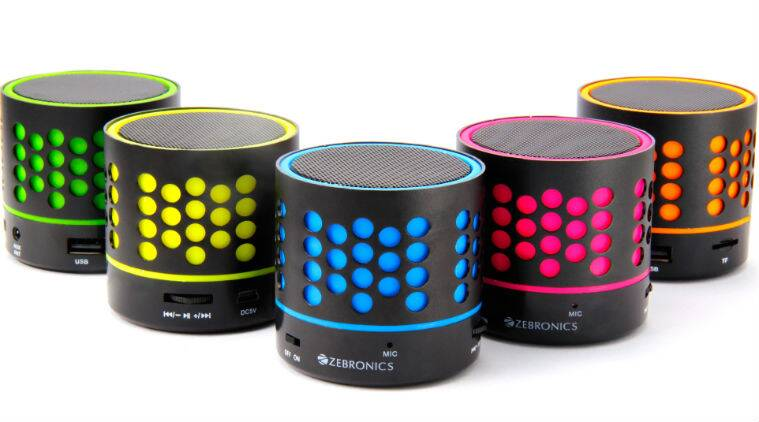 Zebronics, Zebronics speakers, Zebronics dot speakers, Zebronics dot speakers price, Zebronics dot speakers features, Zebronics dot speakers specs, bluetooth, gadgets, smartphones, technology, technology news