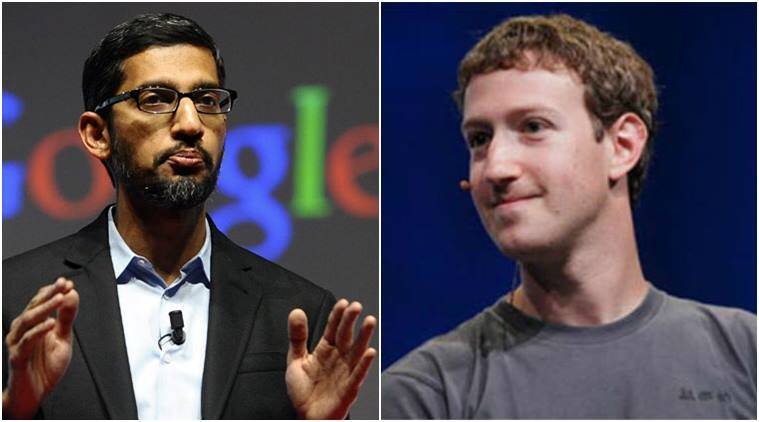 Mark Zuckerberg, Sundar Pichai, Google, Facebook, FB, Google CEO Sundar Pichai, Facebook founder Zuckerberg, Indian mathematician Srinivasa Ramanujan, Indian mathematician, Srinivasa Ramanujan, Mathematics, tech news, technology news