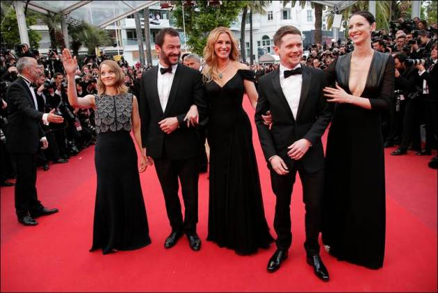 Jodie Foster, Dominic West, Julia Roberts, Jack O'Connell, Caitriona Balfe