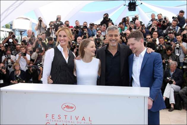 Jodie Foster, Julia Roberts, George Clooney, Jack O'Connell