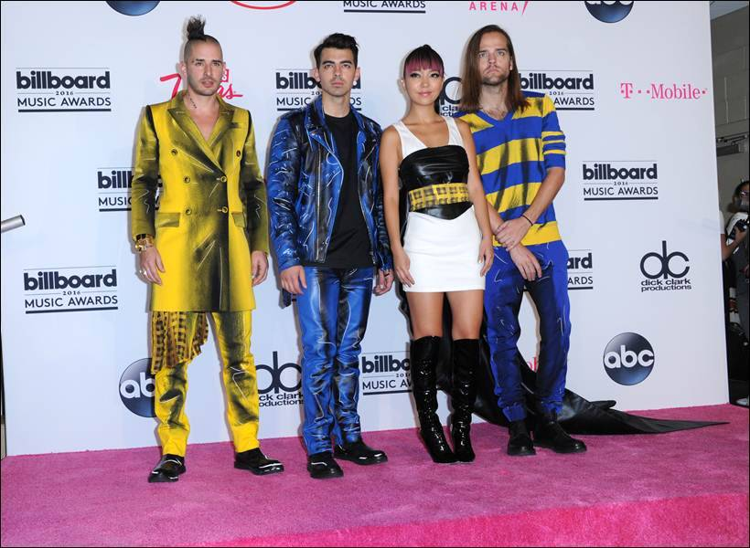 Cole Whittle, Joe Jonas, JinJoo Lee, Jack Lawless