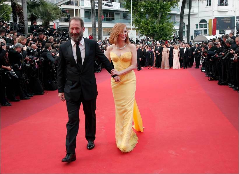 jessica chastain, vincent lindon, cannes, cannes 2016