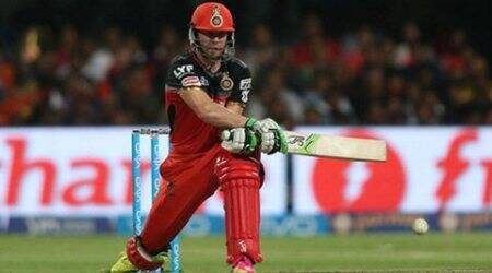 IPL 2016, IPL, IPL play-offs, AB de Villiers, de Villiers batting, AB de Villiers RCB, RCB vs GL, Gujarat Bangalore, sports news, sports, cricket news, Cricket