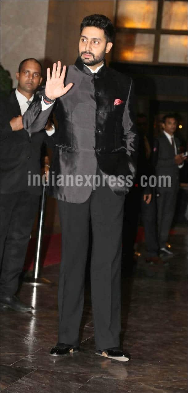 Preity Zinta, Preity Zinta reception, Preity Zinta wedding reception, Gene Goodenough, Abhishek Bachchan