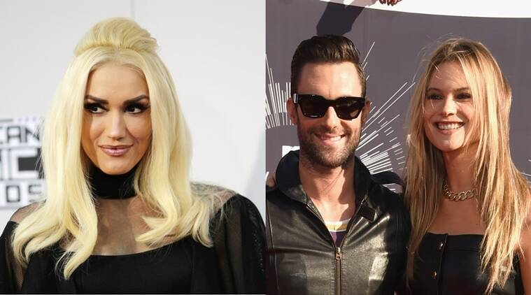 32291ca5b Gwen Stefani helps Adam Levine