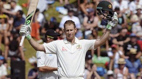 Australia's Adam Voges taken to hospital after being hit  by ball, released soon after